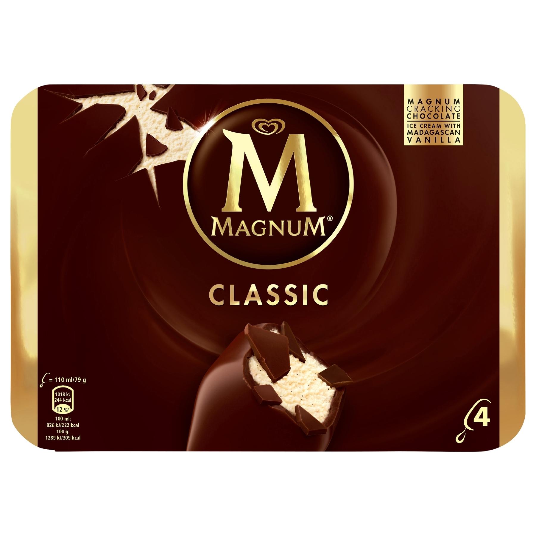 Magnum Eis, 350-440ml, verschiedene Sorten für 1,88 Euro (47 Cent / Eis) [Globus]