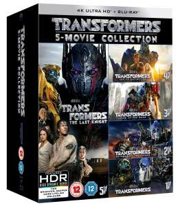 Transformers: 5-Movie Collection (4K Blu-ray + Blu-ray) für 36,64€ inkl. Versand (Zoom UK)