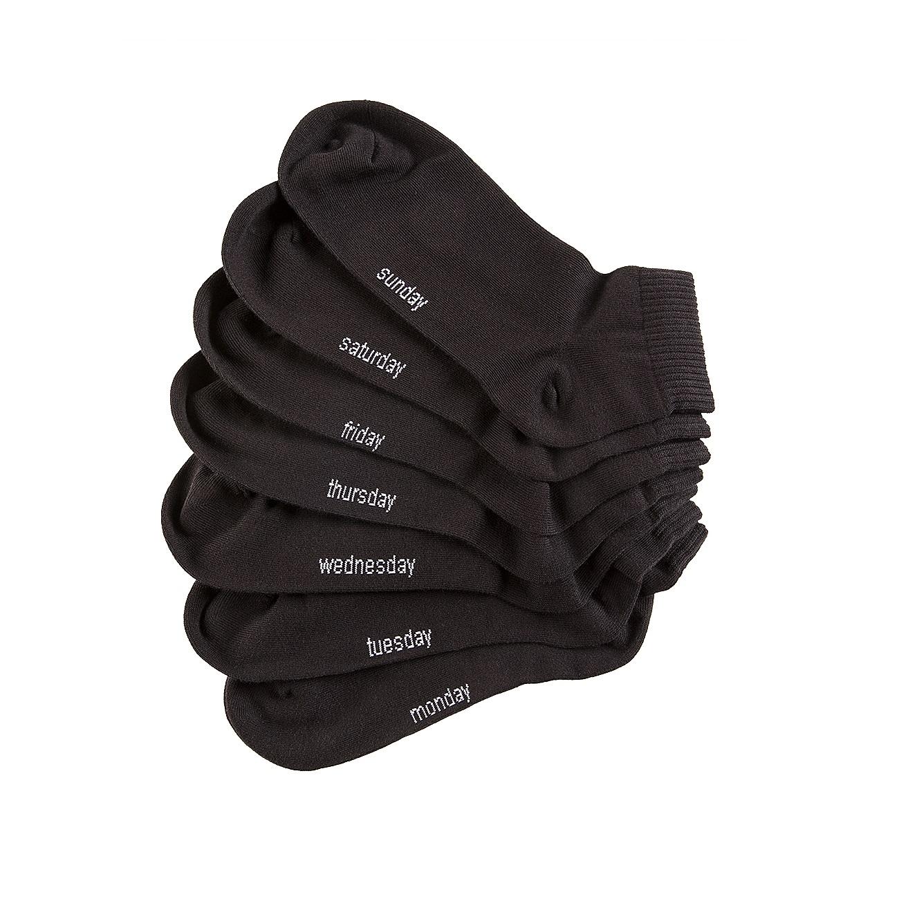 14 Paar Dailysoxx Quarter Everyday Socken für 19,99€