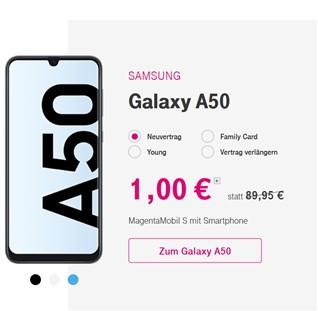 Telekom - 50% auf viele Smartphones für Neu- und Bestandskunden
