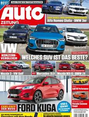 Auto Zeitung Abo (6 Ausgaben) für 20,10 € mit 25,00 € BestChoice-Universalgutschein