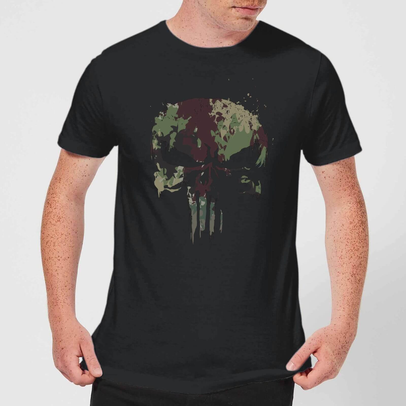 Marvel Camo Skull - Herren & Damen T-Shirt für 10,99€ inkl. Versand (Zavvi.de)