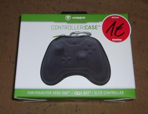 [GameStop Filialen] bundesweit? Xbox Controller Case von Snakebyte für 1€