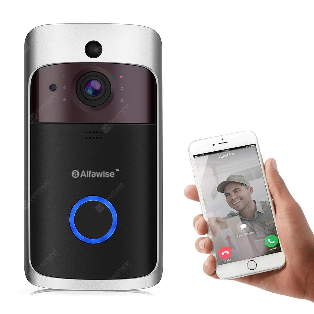 Alfawise L10 Smart Video Türklingel 720P für 30,53€ @ Gearbest