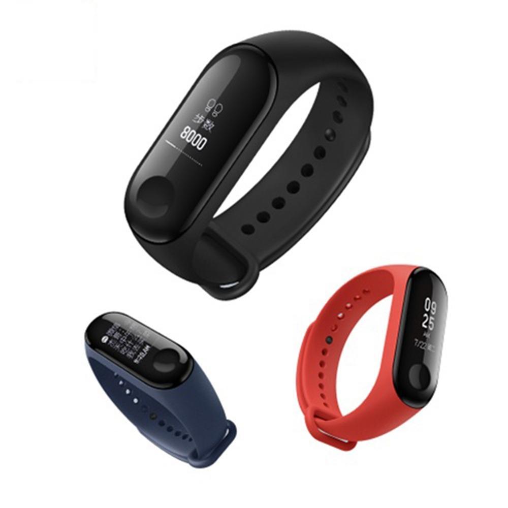 Original Xiaomi Mi Band 3 Smart Watch OLED-Display-Puls-Monitor-Armband internationale Version