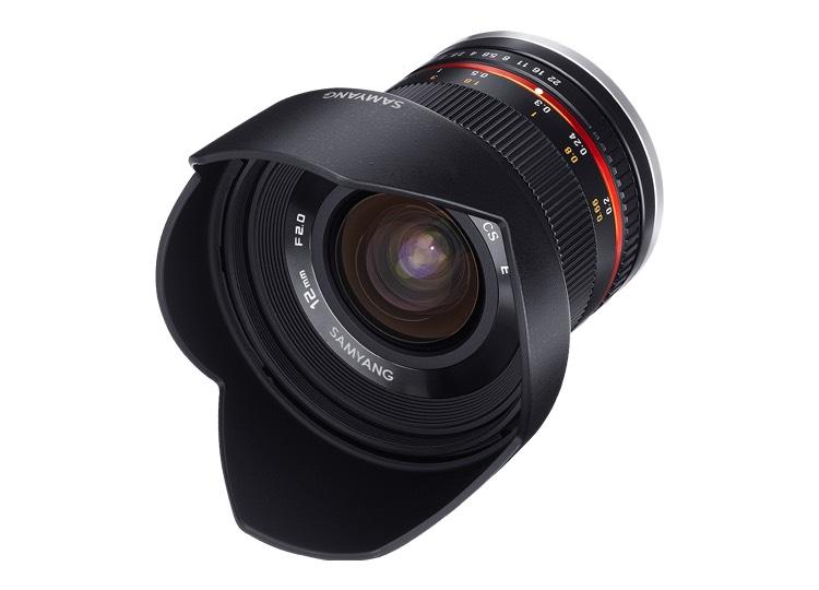 [amazon.fr] Samyang 12mm Objektiv f2 Sony e-mount