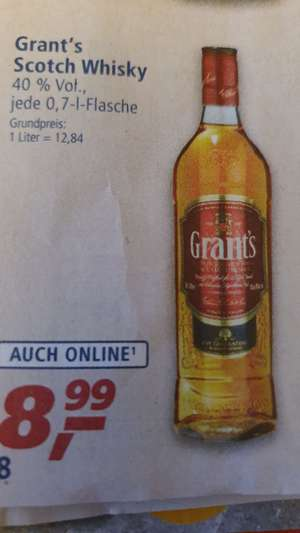 [REAL] Grant's Scotch Whisky 0,7l