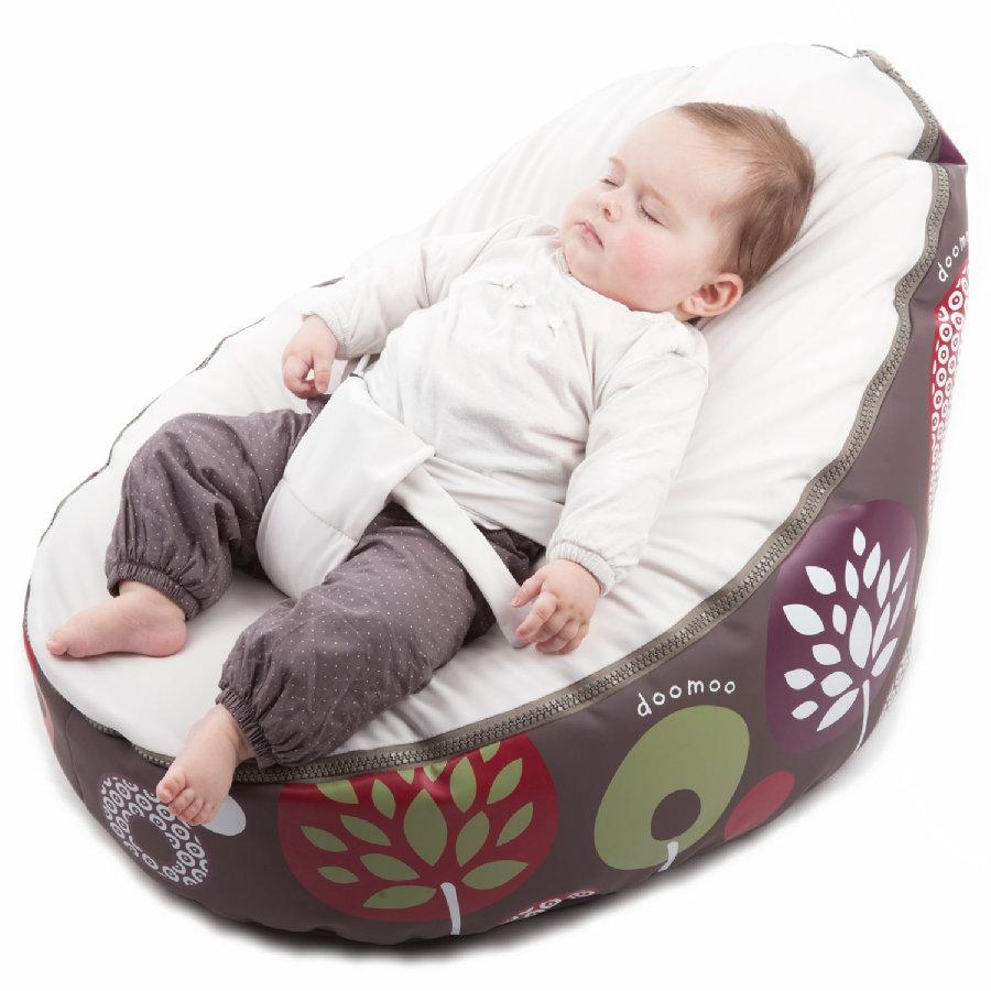 Doomoo Sitzsack Seat Original Farbe Tree Sand - Sitzsack für Kinder und Säuglinge