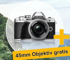 OLYMPUS Sommeraktion: OM-D E-M10 Mk III + gratis 45mm 1.8 // E-M1 Mk II + gratis HLD-9 // E-M1X bis 300 € Cashback // MFT