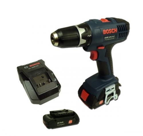 Bosch GSR 18-2-LI mit 2 Akkus @ Ebay Wow für 149,00 EUR