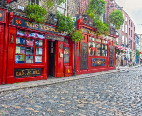 Flüge: Irland ( Juni - Oktober ) Hin- und Rückflug von Frankfurt nach Dublin ab 13,10€
