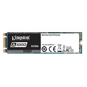 Kingston A1000 480GB SSD (M.2, NVMe, 3D-NAND TLC, PCIe 3.0 x2, R:1500MB/s, W:900MB/s) für 53,91€ [Cyberport@eBay]