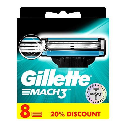 AMAZON Prime Gillette Mach3 Klingen, 8-er Pack für 9,64 - Mindestabnahme 2 Pack