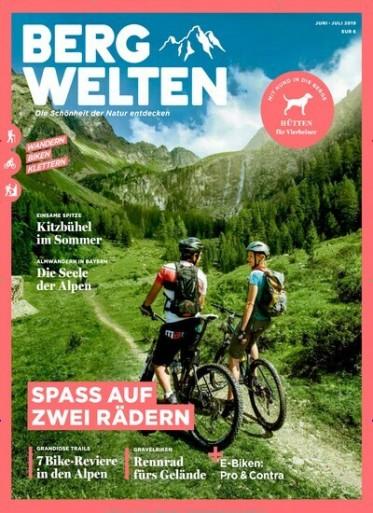 Bergwelten Abo (8 Ausgaben) für 44 € mit 40 € Amazon-Gutschein/ 35 € Verrechnungsscheck