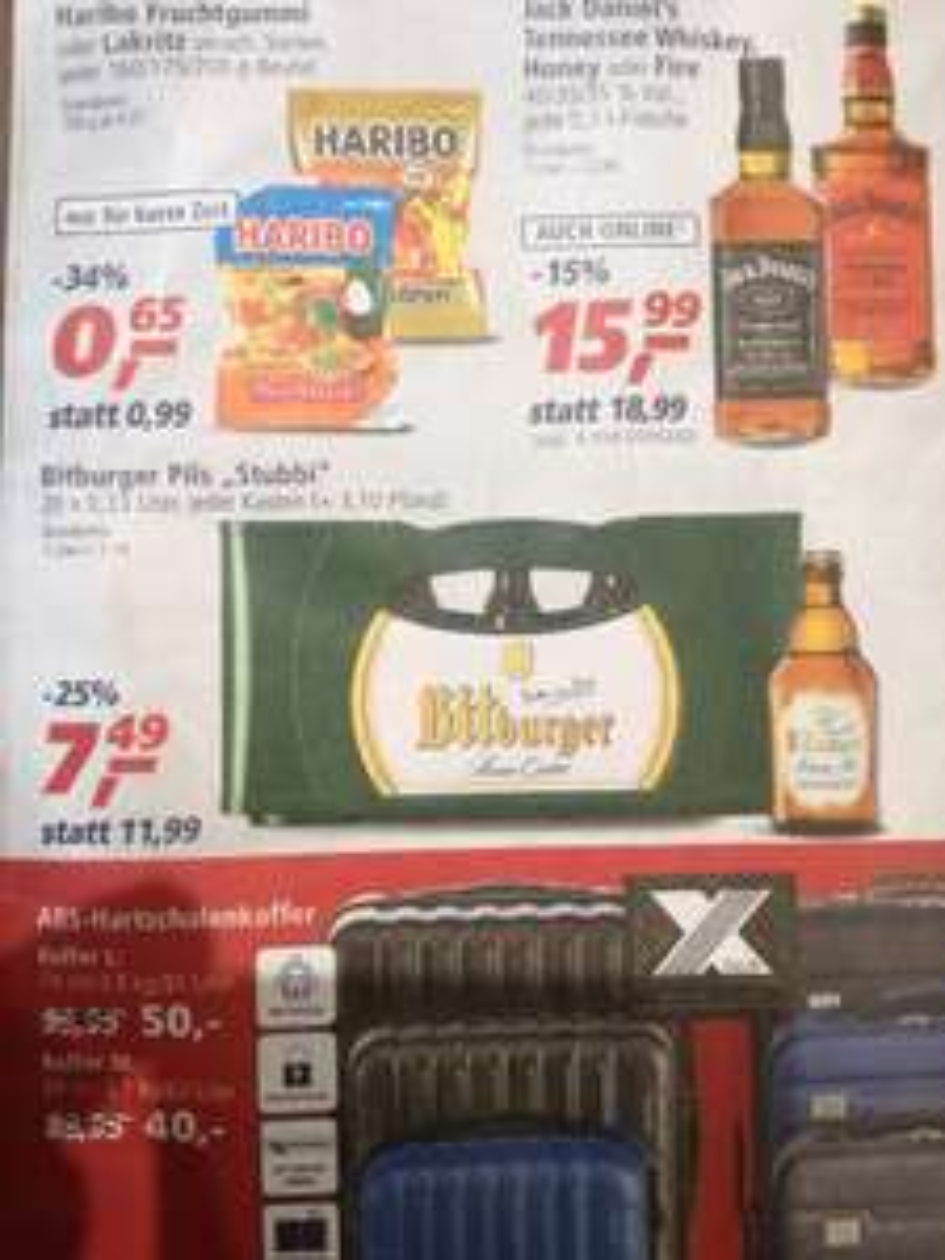 (Lokal) Real Trier und Kenn Bitburger Pils *Stubbi* 20x0,33L