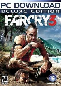 Far Cry 3 Deluxe Edition (Steam) statt 59,99 € für 44.04 €