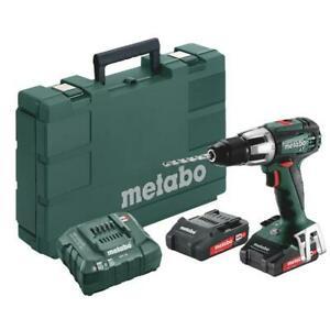 Metabo SB 18 LT Compakt (Akkuschlagbohrer) inkl. 2x 2,0 Ah Akku, Koffer und Ladegerät