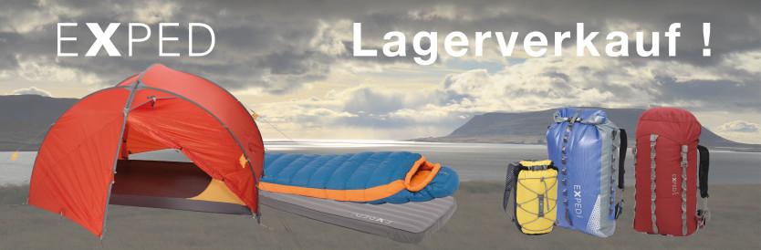 LOKAL - Exped Lagerverkauf - am 22.6. mind. 50 % auf alles - Huntlosen (bei Oldenburg)