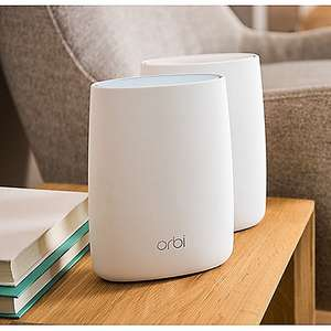 [cyberport] Cyberdeal Netgear ORBI AC3000 Tri-Band WLAN System Mesh Set RBK50 (Router + Satellit)