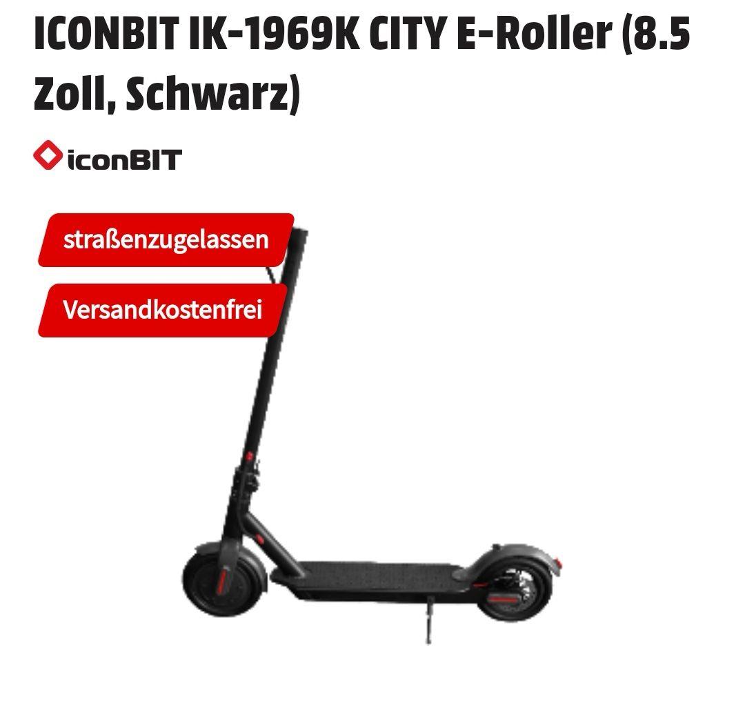 ICONBIT IK-1969K/ Xiaomi M365 CITY E-Roller mit Straßenzulassung