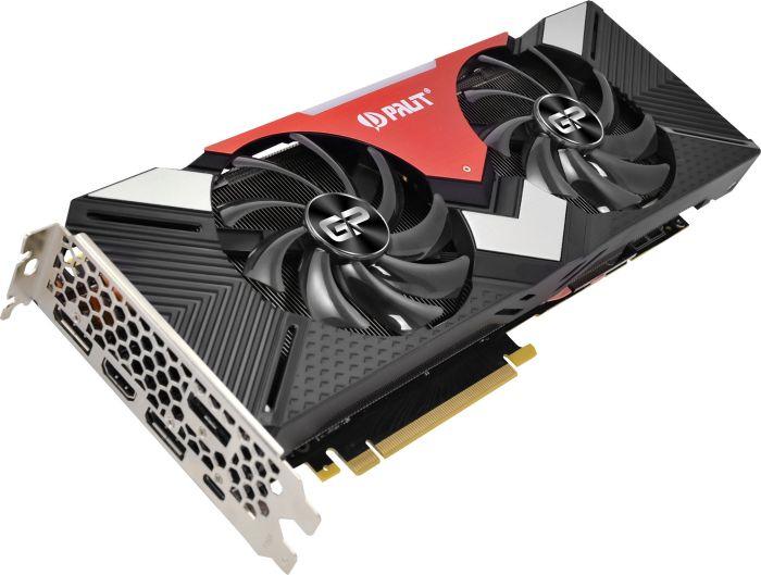 8GB Palit GeForce RTX 2080 Dual Aktiv PCIe 3.0 x16 (Retail)