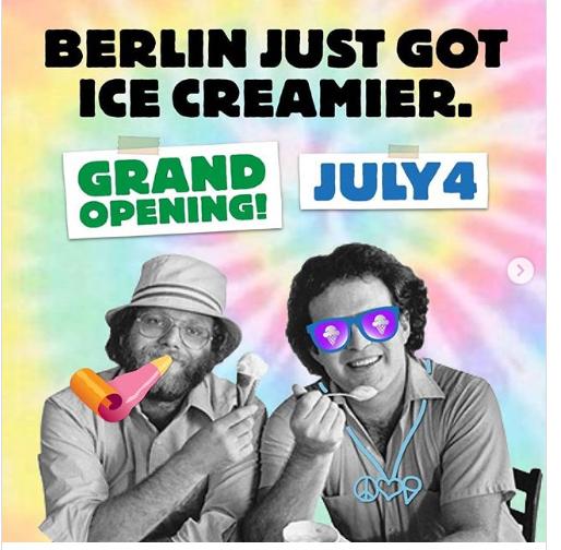 GRATIS Ben & Jerry´s Eis in Berlin am 4.07 zur Neueröffnung des Ben & Jerry's Café