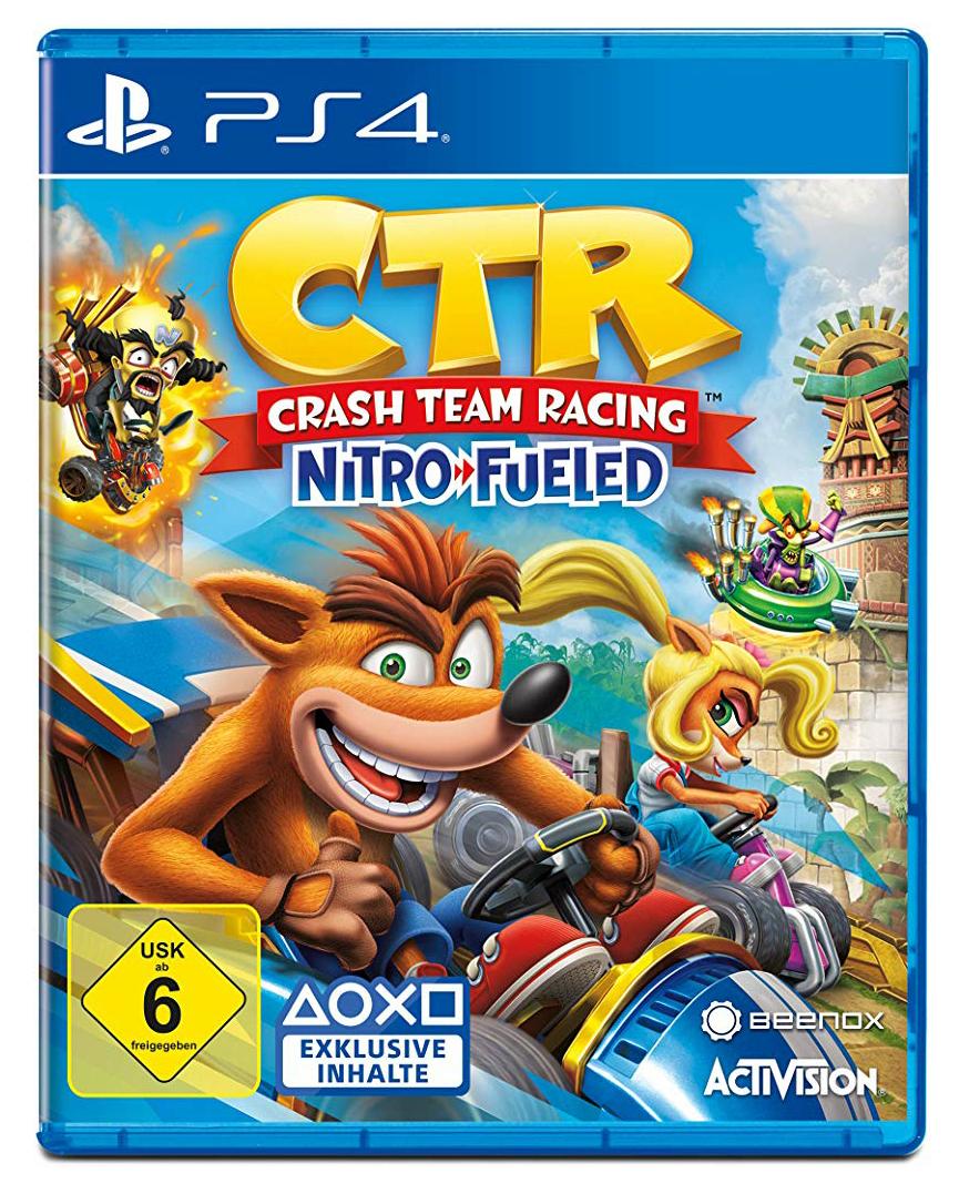Gamestop: Crash Team Racing für 26,79€ möglich
