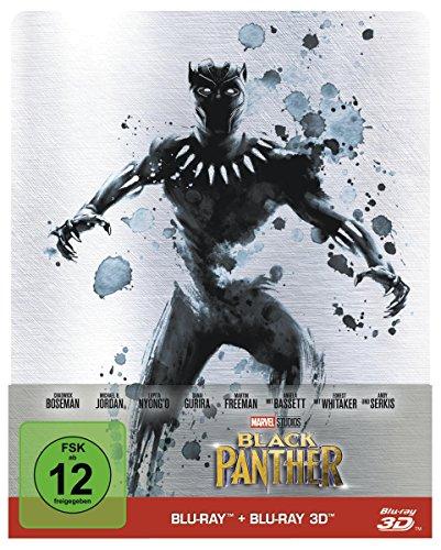 Black Panther 3D Limited Steelbook Edition (3D Blu-ray + Blu-ray) für 15,11€ (Amazon Prime & Media Markt)