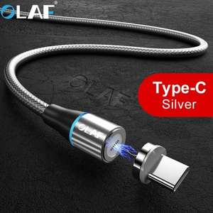 OLAF 3A Type C Magnetic Fast Charging Cable 100CM für 2,34€