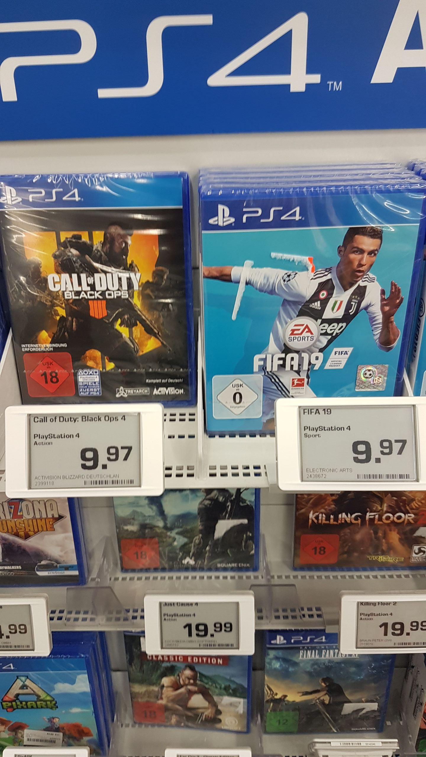 [Lokal] Saturn Troisdorf * Fifa19, Anthem und COD 4 Black Ops PS4
