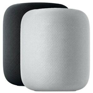 Apple HomePod in schwarz oder weiß für 244,90 (Retourenware mit US-Stecker (EU Adpater liegt bei))