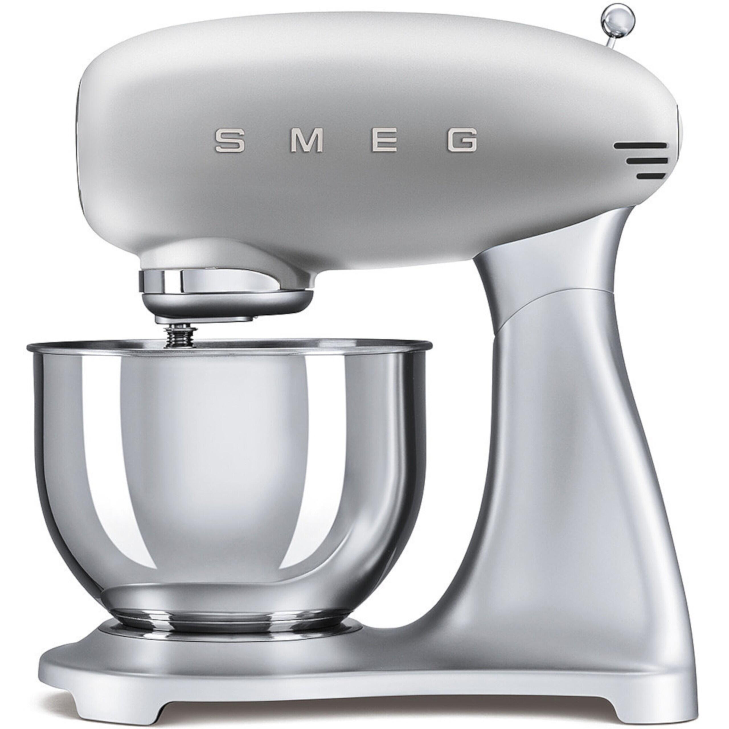 "SMEG Küchenmaschine ""50's Retro Style"" (Silber) SMF01SVEU"