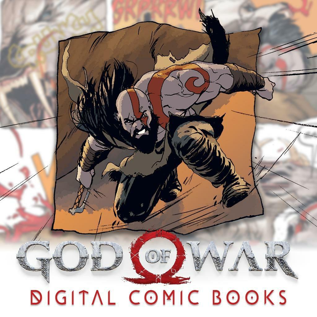God of War - Comic Book 1 kostenlos