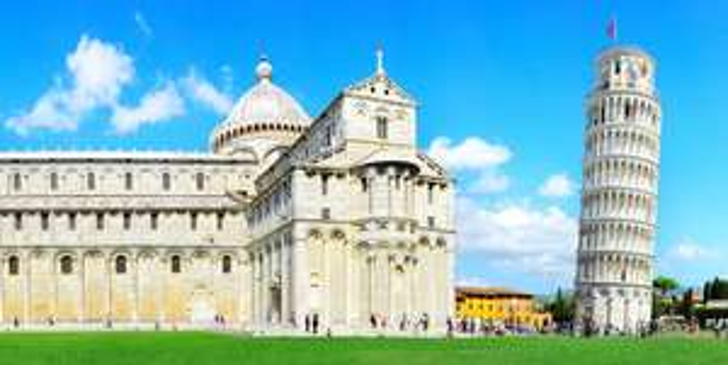 Italien: Hin- und Rückflug von Nürnberg nach Pisa für 2 Personen für 20€ bei Zahlung mit Sofort (Last Minute)