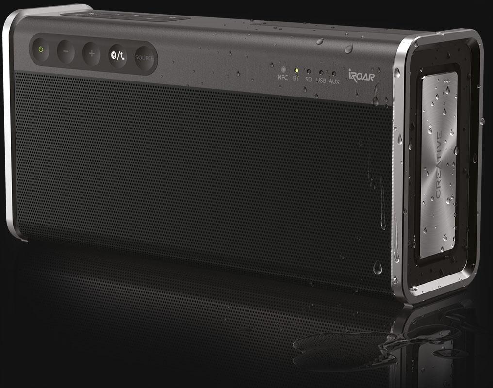 Creative iRoar Go - Portabler Bluetooth-Lautsprecher