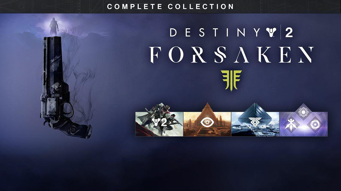 Destiny 2: Forsaken - Complete Collection PS4 um 50% Reduziert