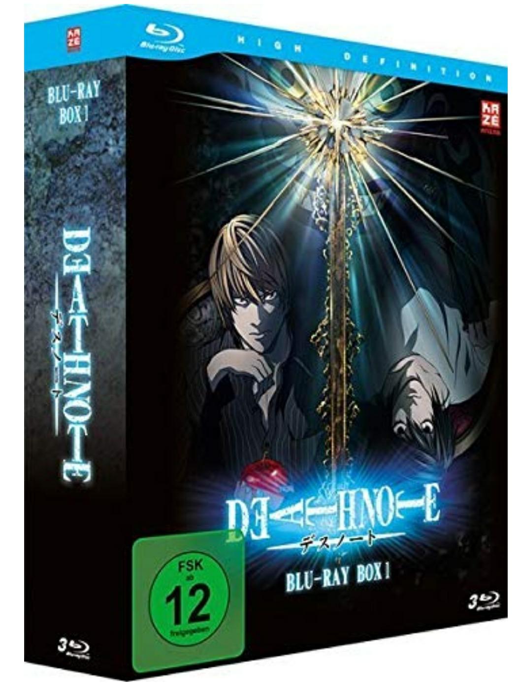 Death Note BluRay Box 1