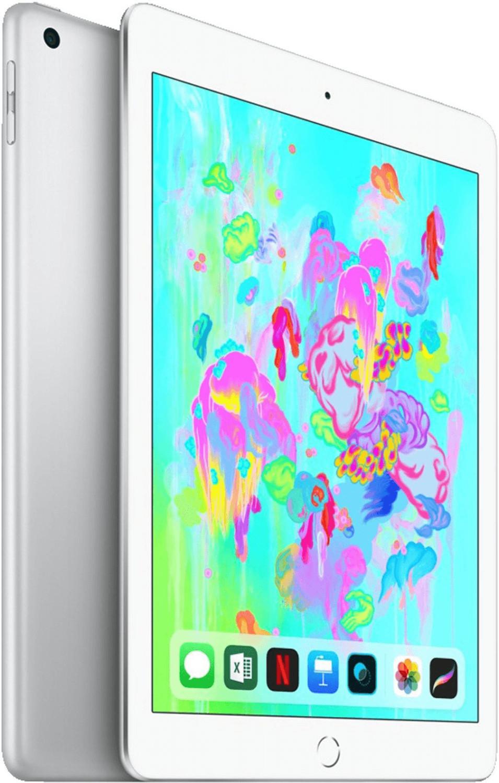 Apple iPad 2018 32GB WiFi silber für 243,92€ inkl. Versandkosten