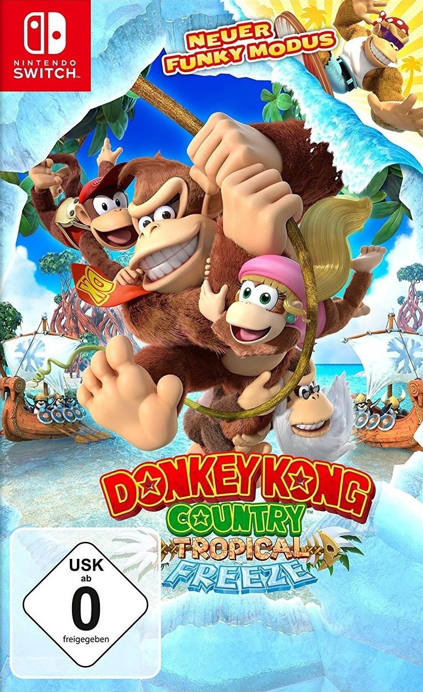 Donkey Kong Country: Tropical Freeze (Switch) für 35,99€ inkl. Versand (Buecher.de)