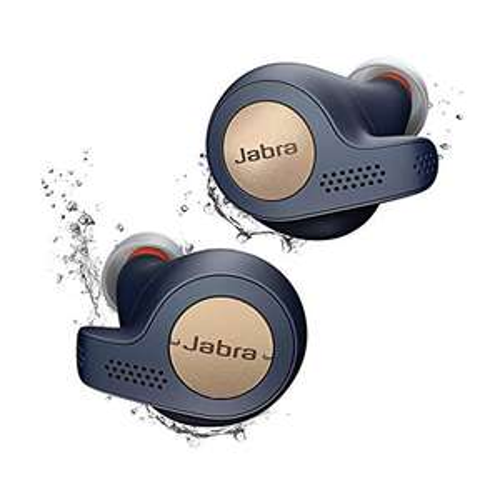 Jabra Elite Active 65t True Wireless Bluetooth Sport Kopfhörer (kupfer/blau)