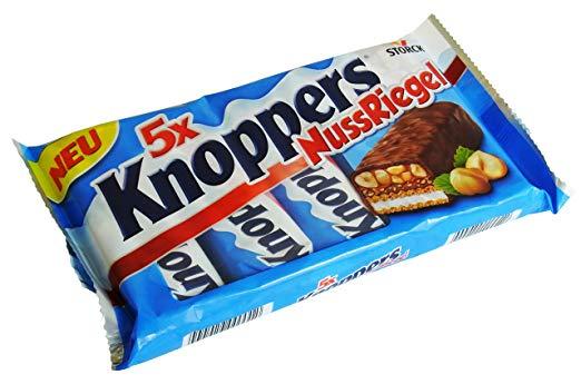[Netto Marken-Discount] Knoppers NussRiegel 5 Stück (5x40g) für 1,49 €