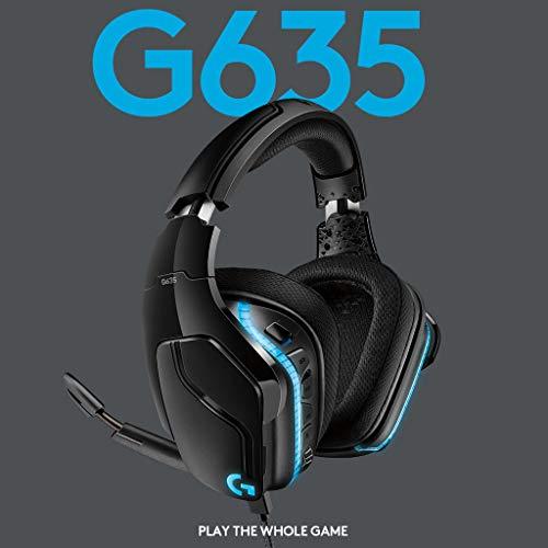 Logitech G635 LYGHTSYNC (7.1. Surround Sound, kabelgebunden) [Amazon Prime]