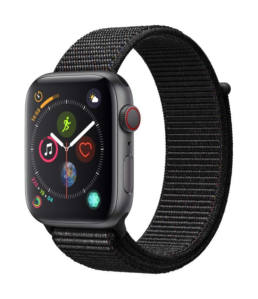 [Amazon.it] Apple Watch Series 4 (GPS + Cellular) Sport Loop schwarz oder silber