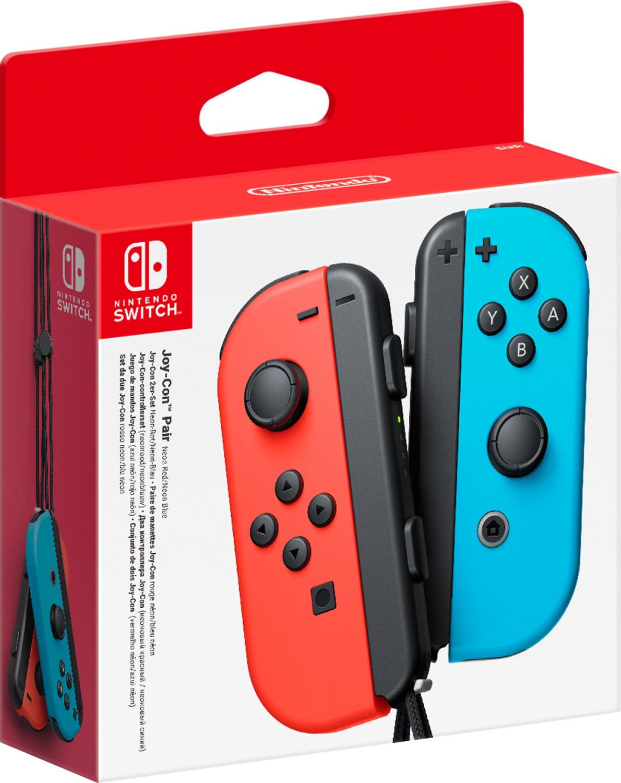Nintendo Switch Joy-Con 2er-Set (Neon-Rot/Neon-Blau) für 58,52€ (Amazon IT)