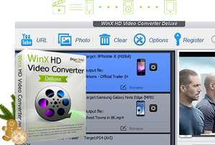 WinX HD Video Converter Deluxe v5.15.3 gratis abstauben