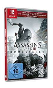 (Prime) Assassin's Creed III Remastered - [Nintendo Switch]