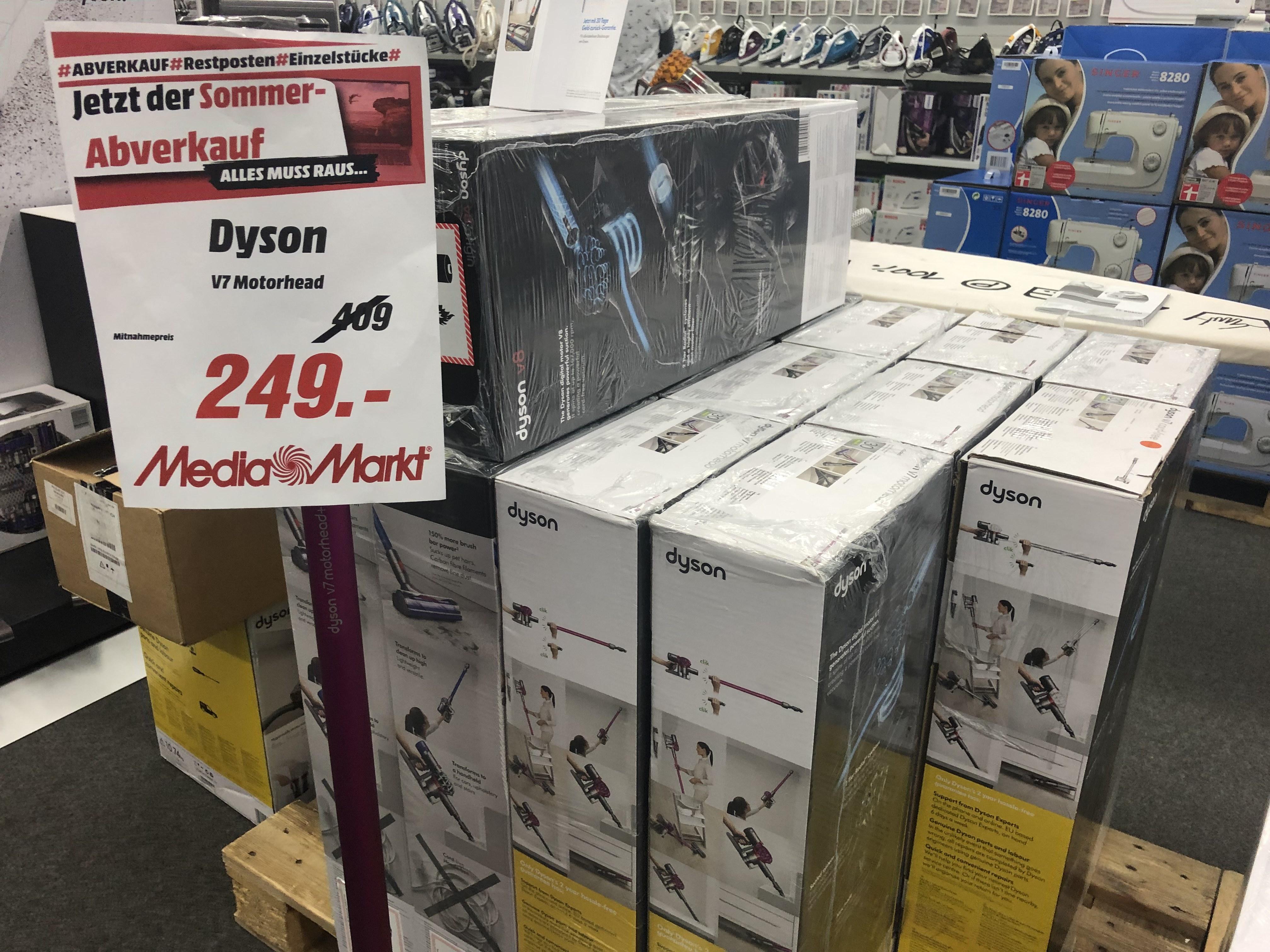 Dyson V7 Motorhead (MM Weiterstadt )