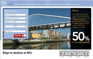FlashDiscount 50% Rabatt auf NH Hotels