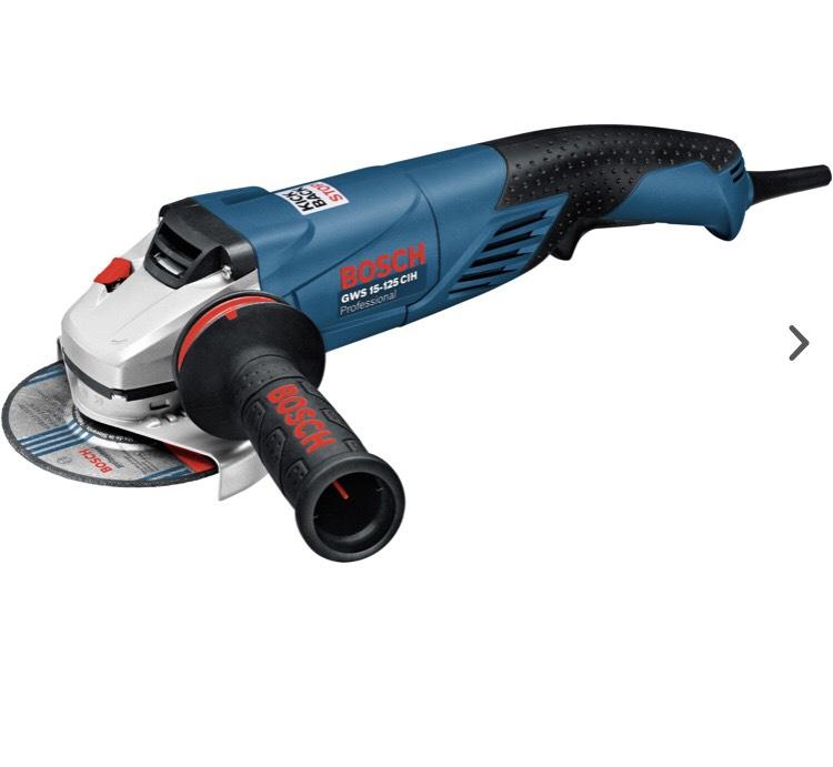 [GLOBUS-ONLINE-BAUMARKT] Bosch Professional Winkelschleifer GWS 15-125 1500 Watt , Scheiben Ø 125 mm (Schnellspannsystem)