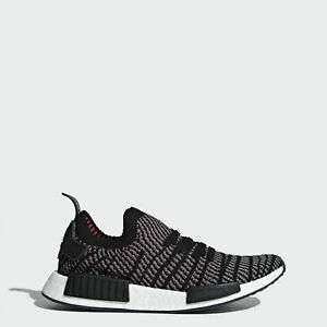[Ebay.de] Adidas NMD_R1 STLT Gr. 40-45,5 Primeknit core black/grey four/solarpink (Herren)